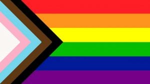 Progress Pride Flag - Supporting LGBTIQ+ communities